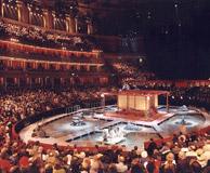 At the Albert Hall